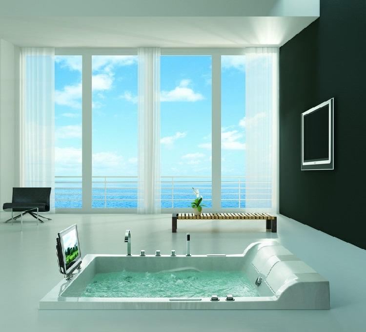 Ideias Banheiro Com Banheira : Ideias para banheiro com banheira grande